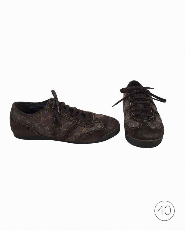 Sapato Louis Vuitton Marrom
