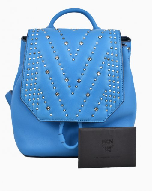 Mochila Diamond Disco MCM Azul