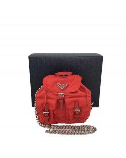 Mochila Mini Prada Vermelha