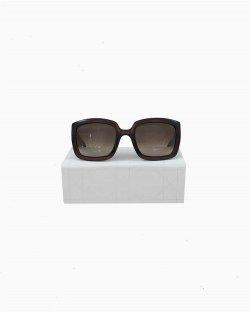 Óculos Dior Quadrado Marrom