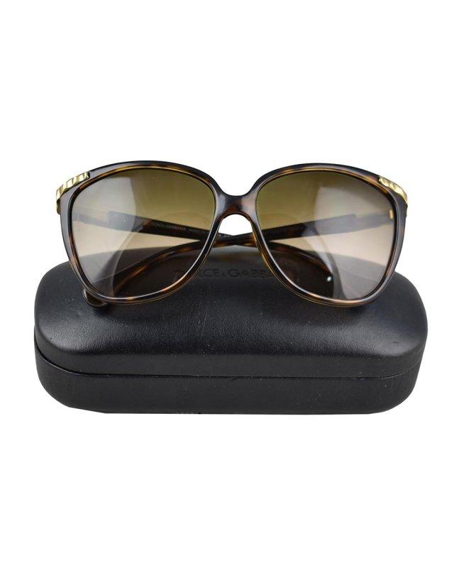 Óculos Dolce & Gabbana DD8096 Marrom