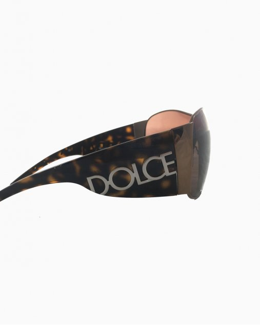 Óculos Dolce & Gabbana Máscara Bronze