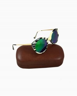 Óculos Illesteva Leonard Mask Dourado