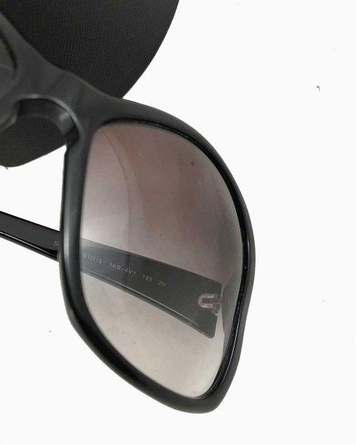 Óculos Prada Preto Grande