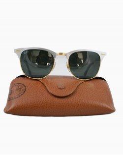Oculos Ray-ban Clubmaster Prata