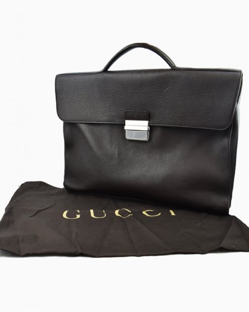 Pasta Masculina Gucci Marrom