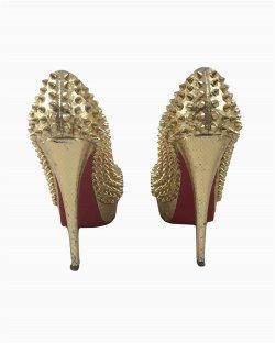 Peep Toe Christian Louboutin Glam Lady Peep