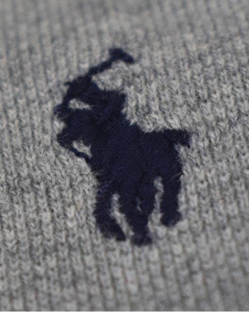 Polo Infantil Ralph Lauren Cinza