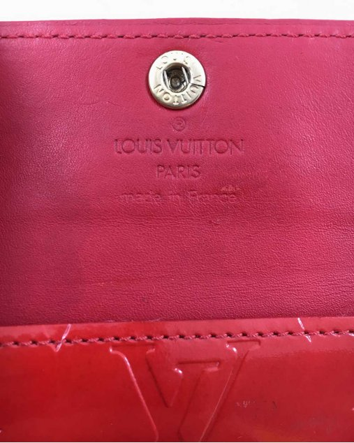 Porta Moedas Louis Vuitton Vermelho