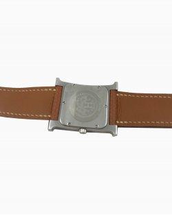 Relógio Hermes H Prata
