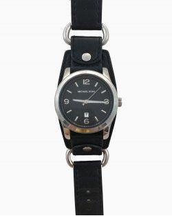 Relógio Michael Michael Kors MK 2154 Couro Preto