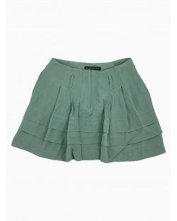 Saia Balenciaga Silk Verde