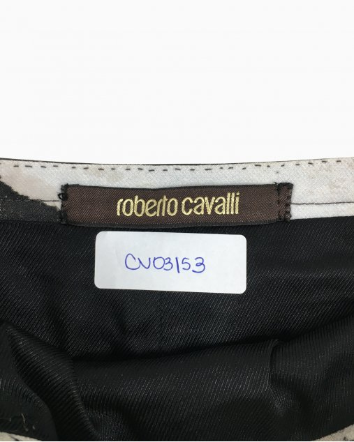 Saia Roberto Cavalli Estampada