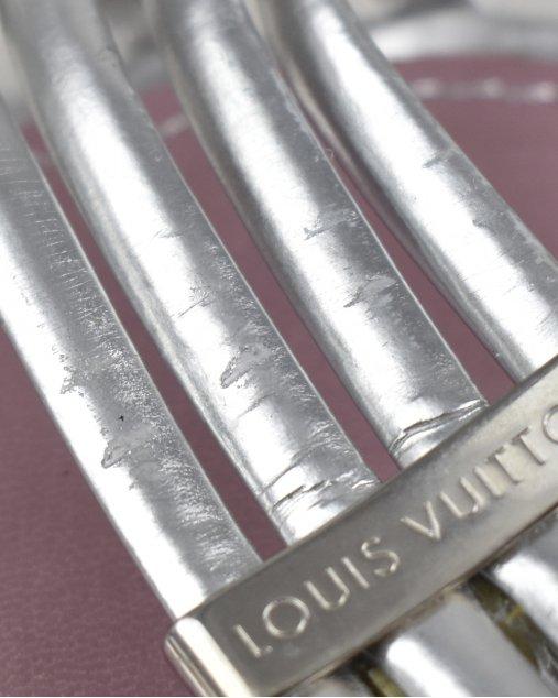 Sandália Louis Vuitton Prata