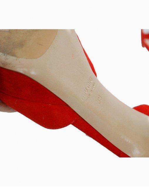 Sandália Miu Miu Vermelha