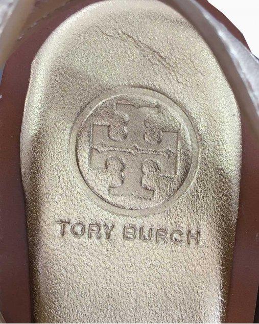 Sandália Tory Burch Dourada