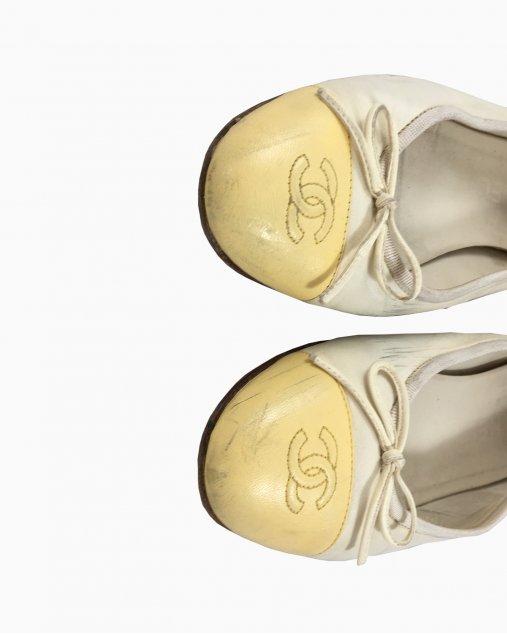 Sapatilha Chanel Amarela