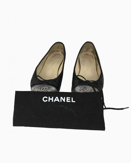 Sapatilha Chanel Preta