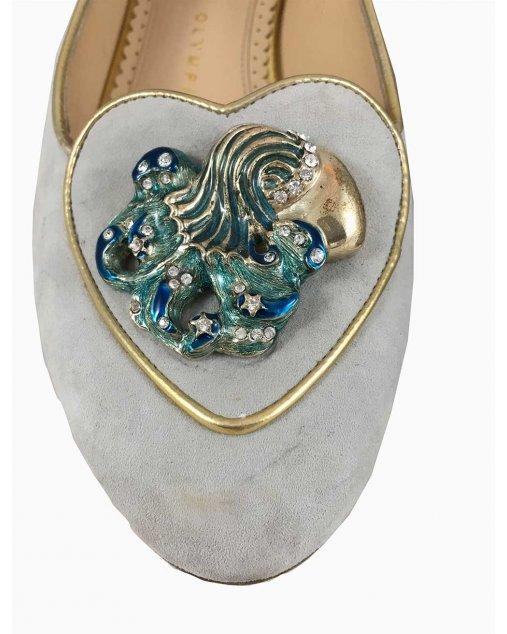 Sapatilha Charlotte Olympia Azul