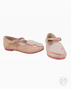 Sapatilha Infantil Sophia Webster Mini Bibi Butterfly Rosa