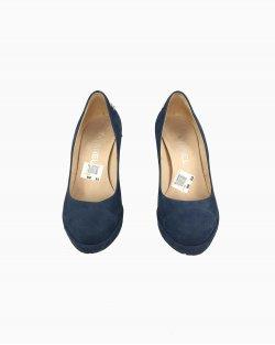 Sapato Azul Petróleo Chanel