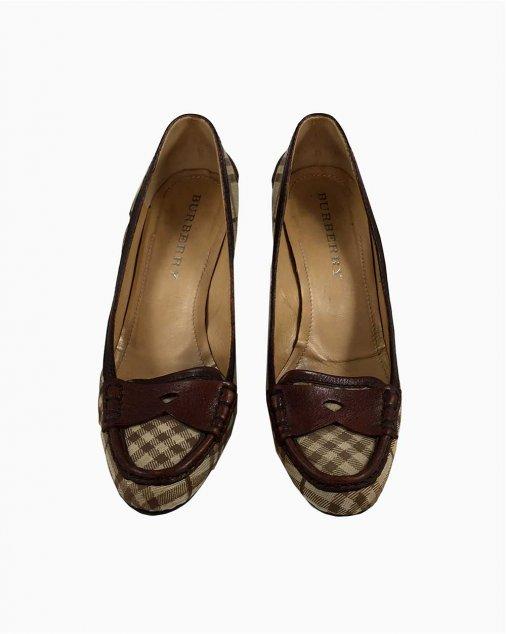 Sapato Burberry Xadrez