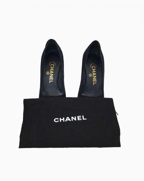 Sapato Chanel Preto