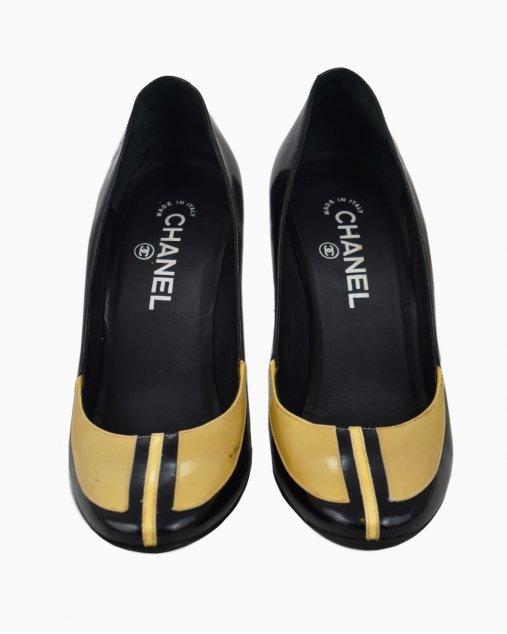 Sapato Chanel Tricolor