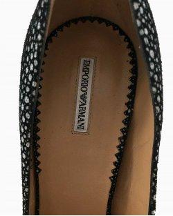 Sapato Emporio Armani Preto Dots