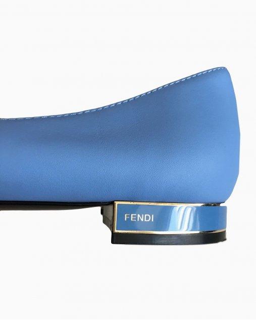 Sapato Fendi Azul