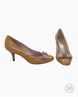 Sapato Ferragamo Mostarda