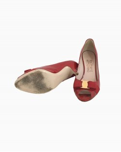 Sapato Ferragamo Vermelho