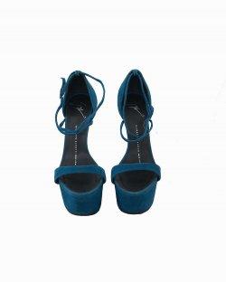 Sapato Giuseppe Zanotti Azul Petróleo