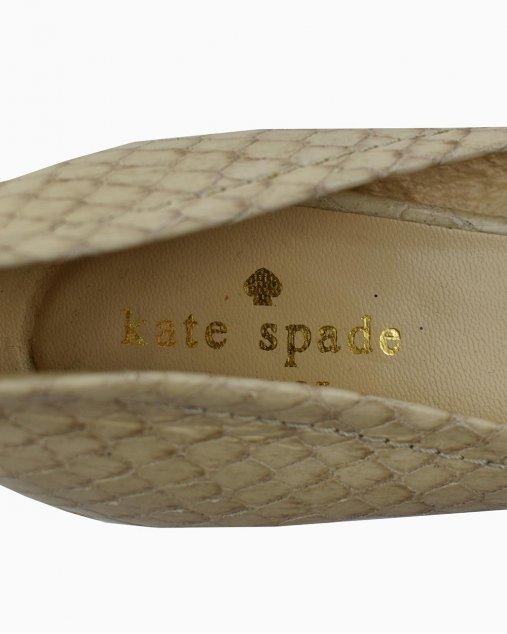 Sapato Kate Spade Fivela Bege