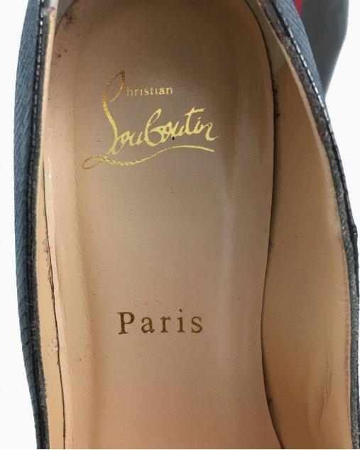 Sapato Louboutin Chumbo