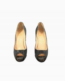 Sapato Louboutin Peep Toe
