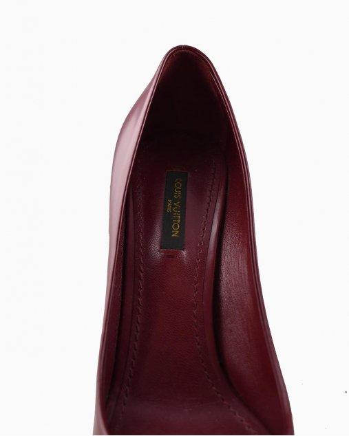 Sapato Louis Vuitton Bordô