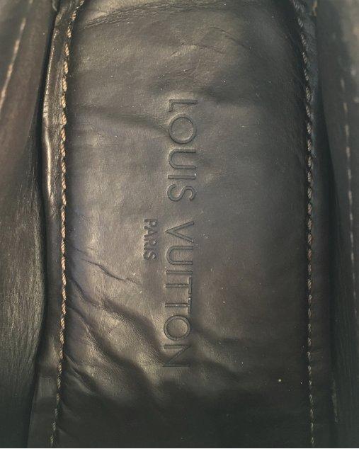 Mocassim Louis Vuitton Camurça Marrom