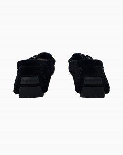 Sapato Louis Vuitton camurça preto