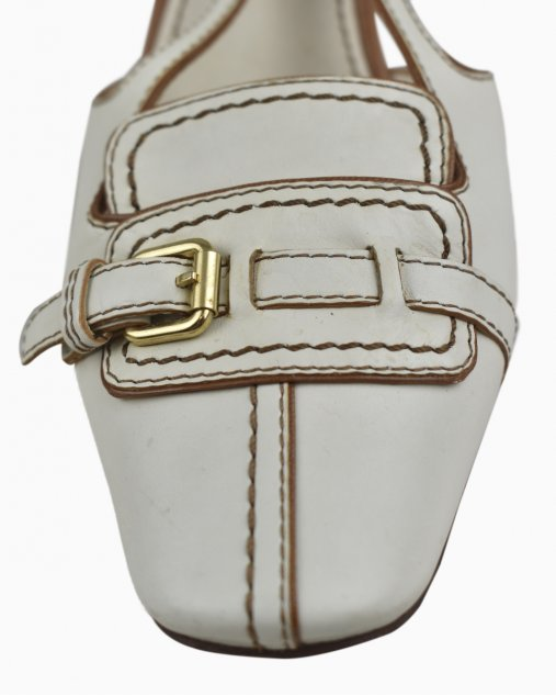Sapato Louis Vuitton Off White