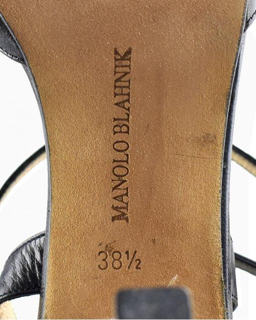 Sapato Manolo Blahnik Preto