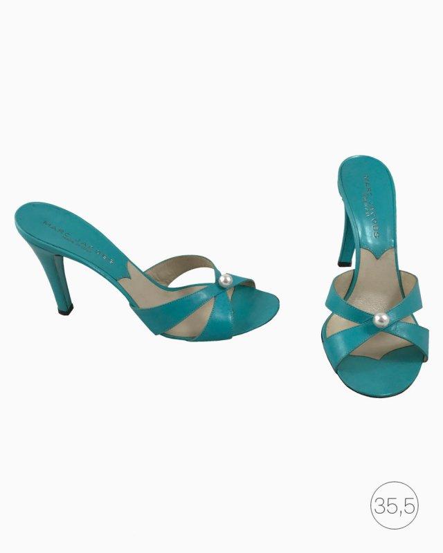 Sapato Marc Jacobs Azul com Pérola