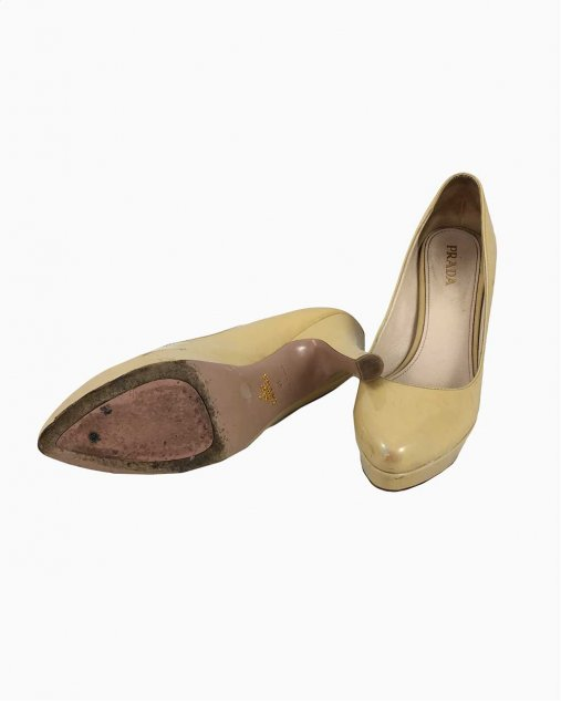 Sapato Prada Amarelo