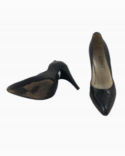 Sapato Prada Couro Preto