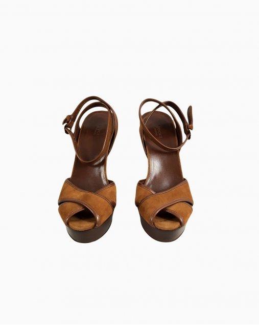 Sapato Salto Plataforma Gucci