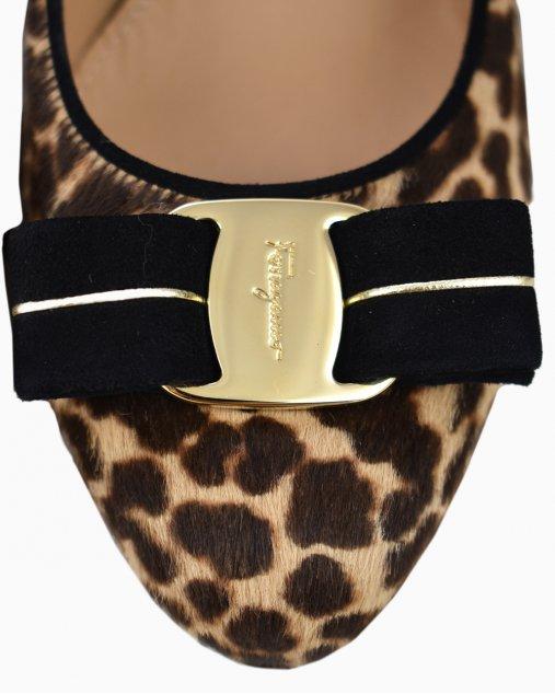 Sapato Salvatore Ferragamo Animal Print