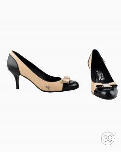 Sapato Salvatore Ferragamo Bicolor Verniz