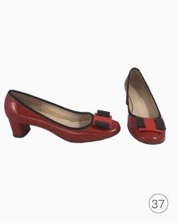 Sapato Salvatore Ferragamo Vermelho