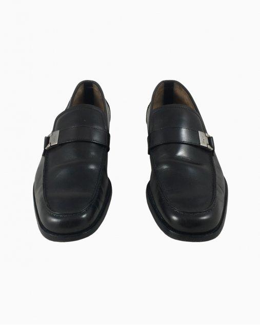 Sapato Social Ferragamo Couro Preto