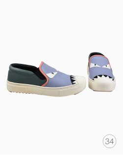Tênis Fendi Monster  Slip-On